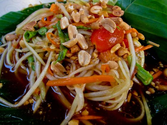 Сом Там (англ. Papaya Salad)